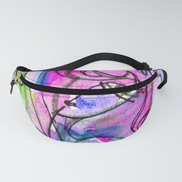 Abstract Nude Goddess No. 40E by Kathy Morton Stanion Fanny Pack