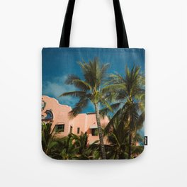 The Pink Hotel Tote Bag
