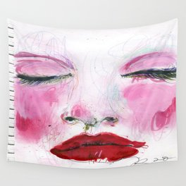 Pink dreams Wall Tapestry