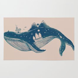 Home (A Whale from Home) Rug