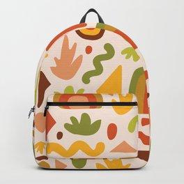 Succulent Cutout Print Backpack