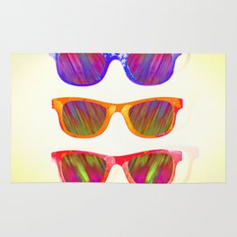 Sunglasses In Paradise Rug
