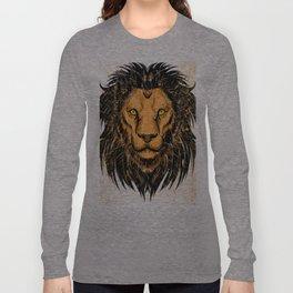 Lion Design Long Sleeve T-shirt