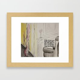 Hearth Framed Art Print