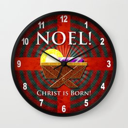 Noel! Wall Clock