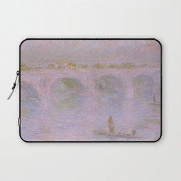 1902-Claude Monet-Waterloo Bridge in London-65 x 100 Laptop Sleeve