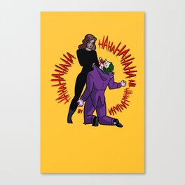 The last laugh Canvas Print