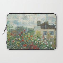 Monet - A Corner in the Garden Laptop Sleeve