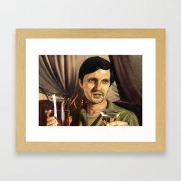 Hawkey Pierce Framed Art Print
