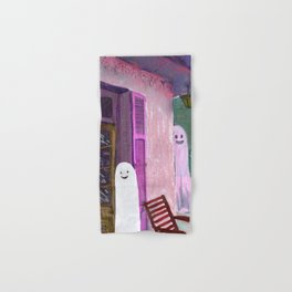ghost house Hand & Bath Towel