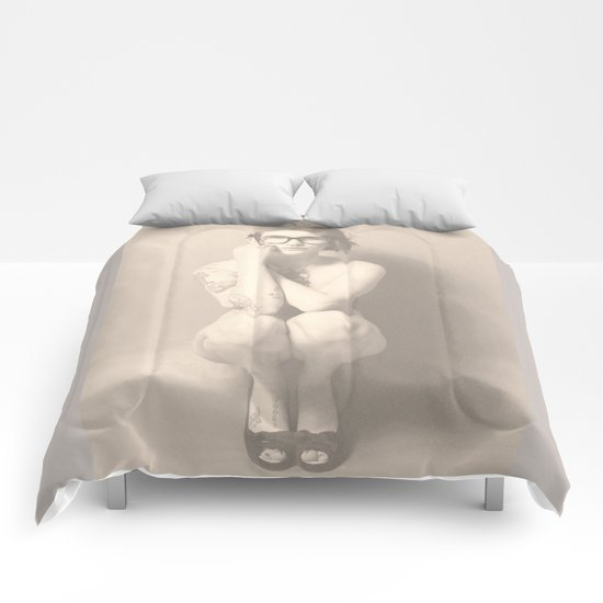 join the nerd-army Comforters
