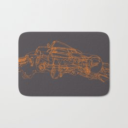 Car Clump Bath Mat