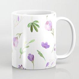 Purple Flower Field Coffee Mug