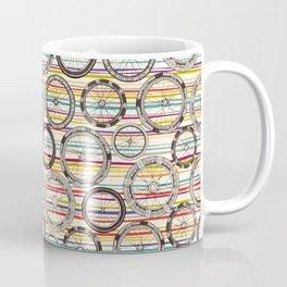 bike wheels stripe Coffee Mug