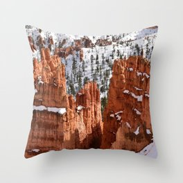 Bryce Canyon - Sunset Point II Throw Pillow