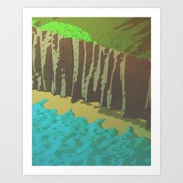 Day 0412 /// C-liff Art Print