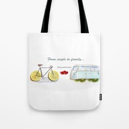 Our Love Journey Tote Bag