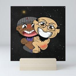Space Buddies G&J Mini Art Print