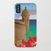 puerto rico iPhone & iPod Cases featuring Puerto Rico by PADMA DESIGNS PR