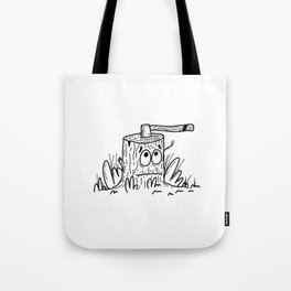 A Little Off the Top Tote Bag
