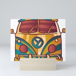 Classic van Mini Art Print