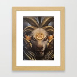 Awaken Venice Demon Framed Art Print