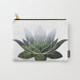 Forest Photography Lotus Carry-All Pouch