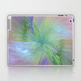 Mystic Warmth Abstract Fractal Laptop & iPad Skin
