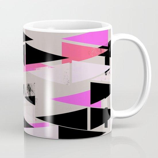 Pink Triangles II Mug