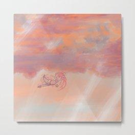 skydiving Metal Print