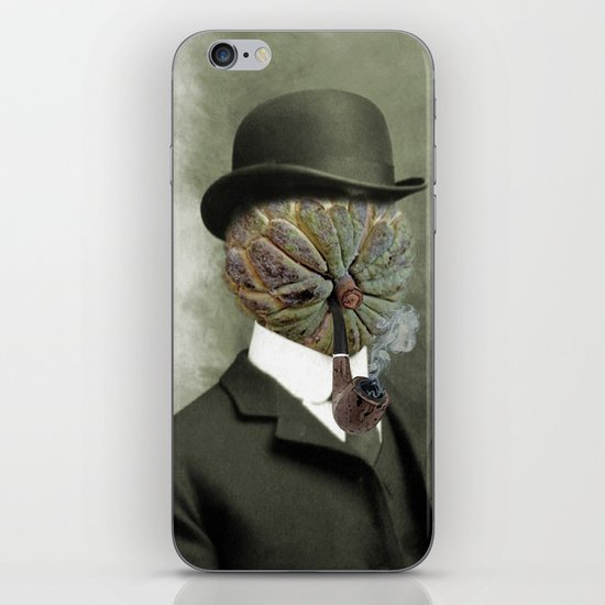 Sir Custard Bowler iPhone & iPod Skin