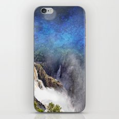 Wild waterfall in abstract iPhone & iPod Skin