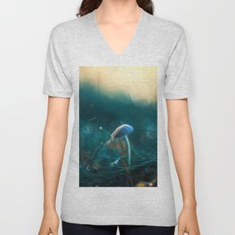 In the Dusk of Dawn Unisex V-Neck