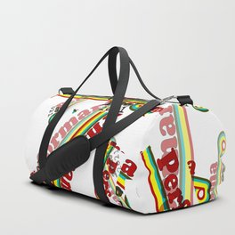 Perform-A-rama Logo Collage Duffle Bag