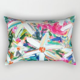 Feel Good Flowers! Rectangular Pillow