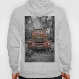 International RC-160 Flatbed Vintage Rusty Truck Hoody