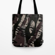 Deep Forest Camo Tote Bag