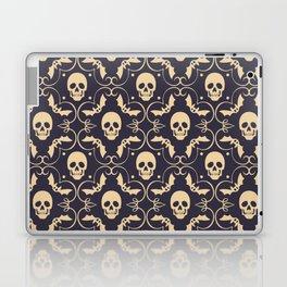 Happy halloween skull pattern Laptop & iPad Skin