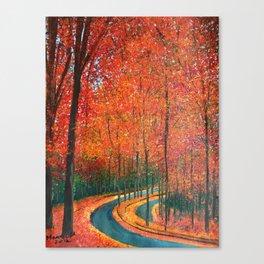 Beautiful colors of Autumn Canvas Print