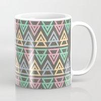 Triangulate 3 / Neon Midnight Coffee Mug