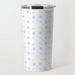 stars 38 - blue Travel Mug