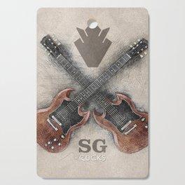 SG Rocks (Gibson SG) Cutting Board