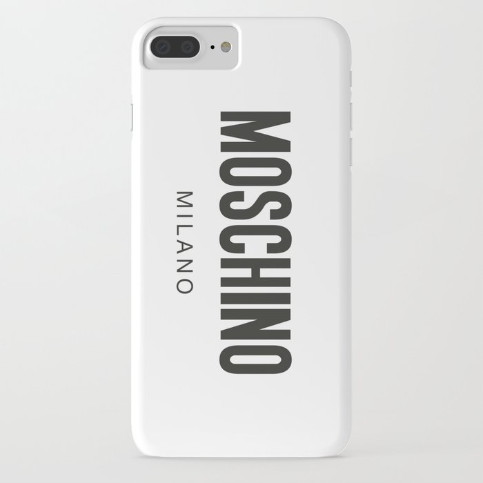 moschino milano iphone case