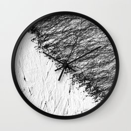 Connection Minimal Painting Wall Clock