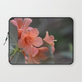Orange Rhododendron in bloom Laptop Sleeve