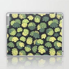 Green Succulents Pattern Laptop & iPad Skin
