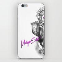 ganesha iPhone & iPod Skins featuring Ganesha by Morgan Soto