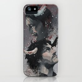 Winter Blood iPhone Case