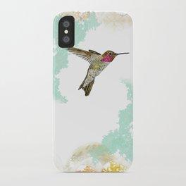 Hummingbird Ayre Serene Dream iPhone Case