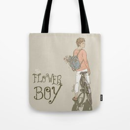 """ The Flower Boy "" Tote Bag"